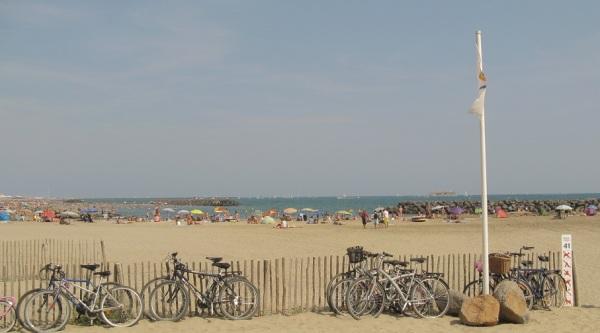 Location de chalet  Vacances à Rochelongue, une plage dans le Sud de la France